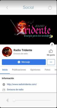 Radio Tridente screenshot 1