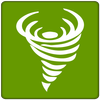 Earthquake Tornado Flood icon