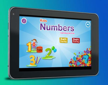 Learning Numbers 123 for Kids poster