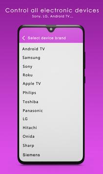 Sure Universal Remote screenshot 1