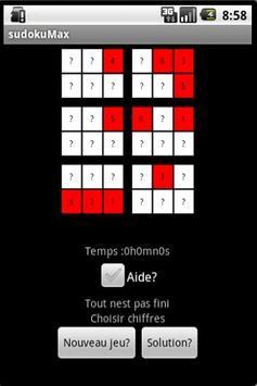 SudokuMax screenshot 1