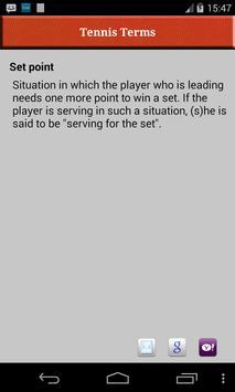 Tennis Terms 截图 4