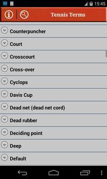 Tennis Terms 截图 1