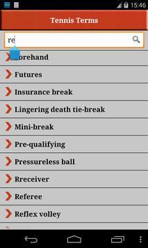 Tennis Terms 截图 3
