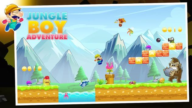 Jungle Boy Adventure - New Game 2019 poster