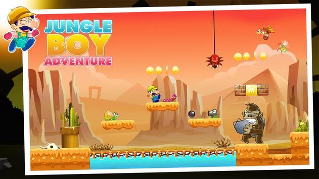 Jungle Boy Adventure - New Game 2019 screenshot 2