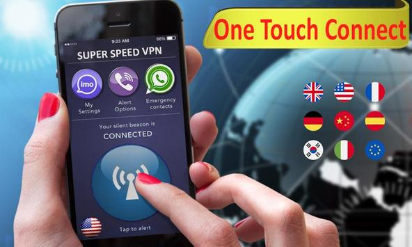 Super VPN free secure proxy master unblock sites screenshot 4