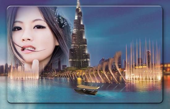 Dubai Fountain Photo Frames screenshot 1