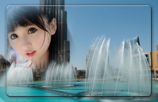 Dubai Fountain Photo Frames screenshot 2