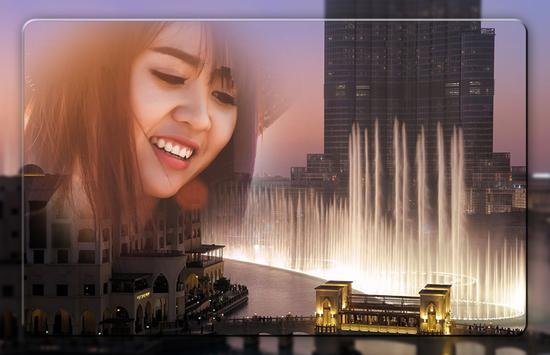 Dubai Fountain Photo Frames screenshot 4