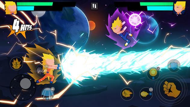 Super Dragon Stickman Battle - Warriors Fight poster