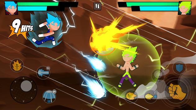 Super Dragon Stickman Battle - Warriors Fight screenshot 19