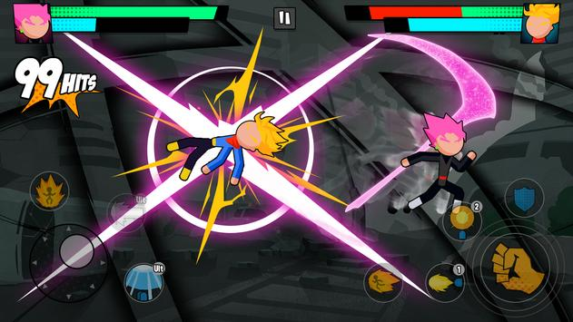 Super Dragon Stickman Battle - Warriors Fight screenshot 1