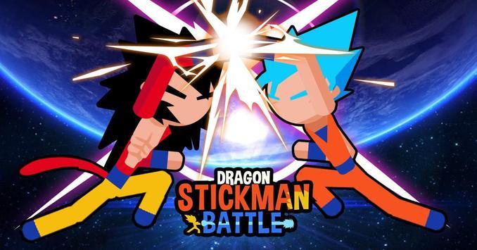 Super Dragon Stickman Battle - Warriors Fight screenshot 22