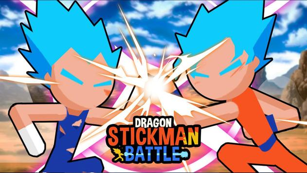 Super Dragon Stickman Battle - Warriors Fight screenshot 7