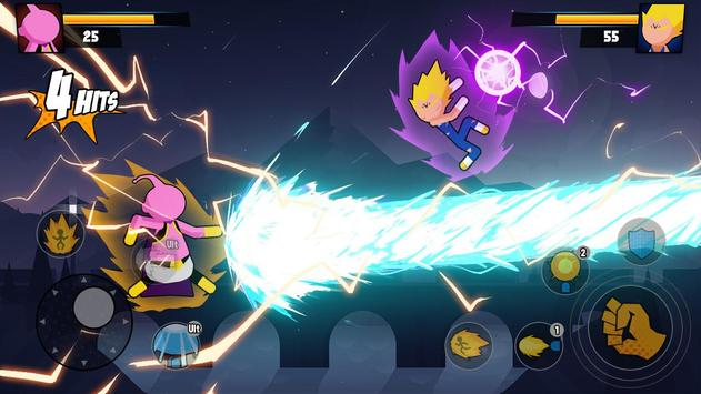 Super Dragon Stickman Battle - Warriors Fight screenshot 4