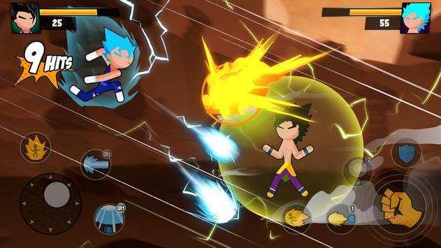 Super Dragon Stickman Battle - Warriors Fight screenshot 5