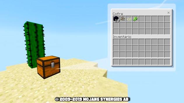 SkyBlock for mcpe - survival maps screenshot 1