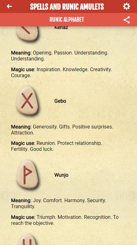 Spells and Runic Amulets for Android - APK Download