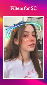 Filters for SC & Stickers screenshot 4