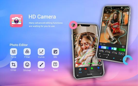 كاميرا الجمال-كاميرا الصور الشخصية مع ملصقات الوAR تصوير الشاشة 1