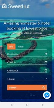 Sweethut.holiday - Best Deals on Hotels & Homestay poster