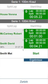 Swimery Timing App screenshot 3