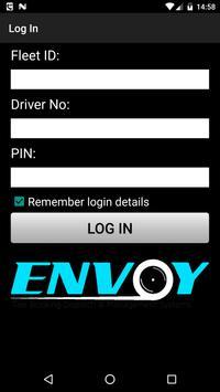 Envoy Driver App poster