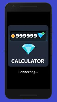 Diamonds Calculator for Gamers ML poster