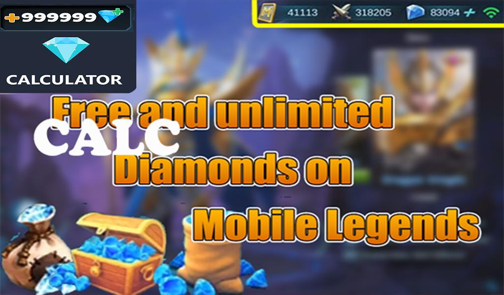 Diamonds Calculator - Mobile Legend 2019 for Android - APK