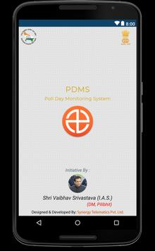 PDMS - Poll Day Monitoring System poster