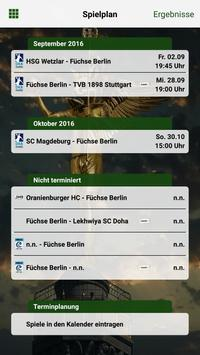 Füchse Berlin screenshot 3