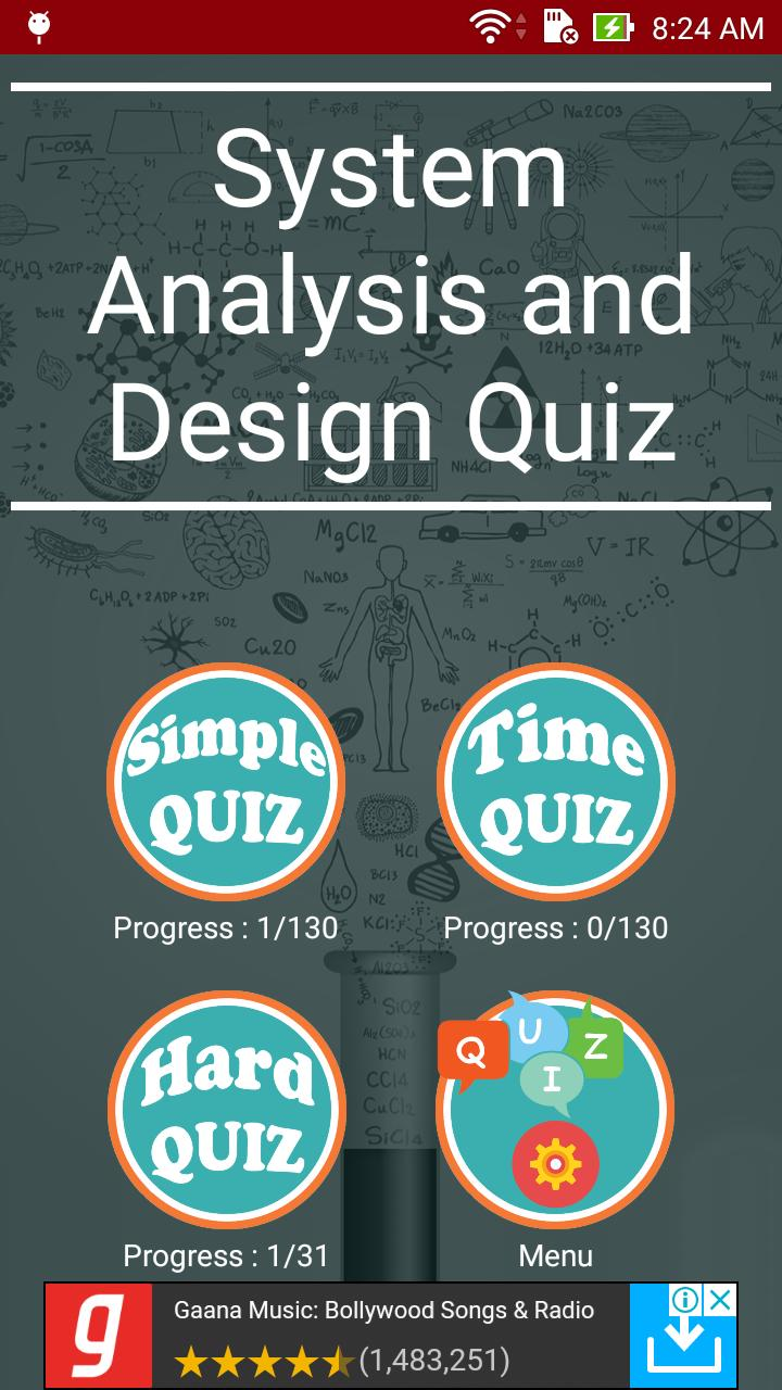 System Analysis And Design Quiz For Android Apk Download