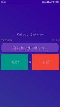 Open Quiz : Free Travia Game Multiple Choice & T/F screenshot 3