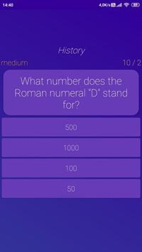 Open Quiz : Free Travia Game Multiple Choice & T/F screenshot 4