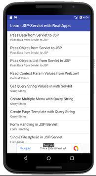 Learn JSP-Servlet with Real Apps poster