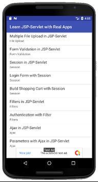 Learn JSP-Servlet with Real Apps screenshot 1