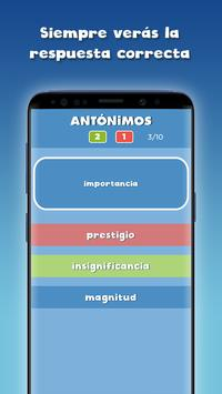 Guess the correct word in Spanish free screenshot 2