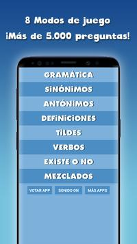 Guess the correct word in Spanish free screenshot 4