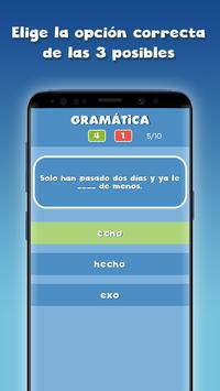 Guess the correct word in Spanish free screenshot 9