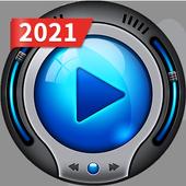 HD-Videospeler - Mediaspeler-icoon