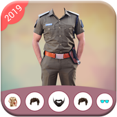 Police Suit - Police Suit Photo Editor icon