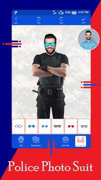 Police Suit - Police Suit Photo Editor screenshot 3