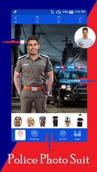Police Suit - Police Suit Photo Editor poster