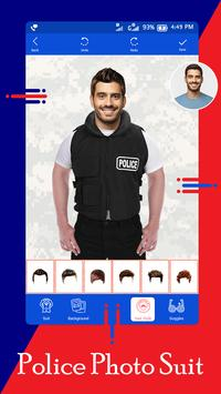 Police Suit - Police Suit Photo Editor screenshot 2