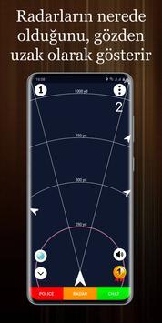 Polis Radarı Ekran Görüntüsü 2