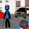 US Police Stickman Rope Hero Vegas Gangstar Crime APK