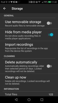 Grabador de Llamadas captura de pantalla 6