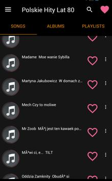 Polskie Hity Lat 80 screenshot 1
