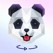 Poly Mood - 3D puzzle sphere ícone